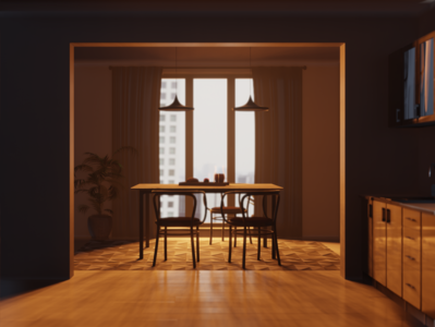 Dining room design 3dmodeling rendering digitalart digital3d interiordesign modeling furniture 3dart 3d blender