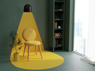 Move to What Moves You modeling digital3d chair blender3d 3dmodeling digitalart furniture rendering interiordesign blender