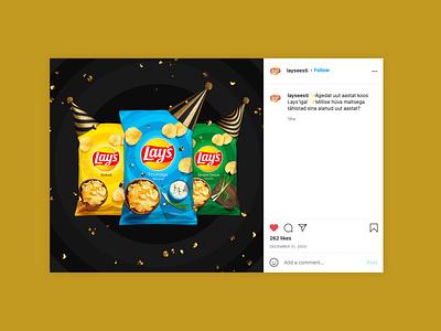 PepsiCo Social Media 2 promotional food global crisps visual campaign advertising illustration digital photo retouching photo editing social media adobe illustrator adobe photoshop design graphic design