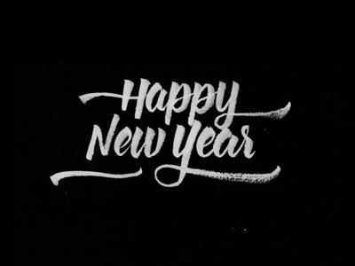 Happy New Year Dribbble