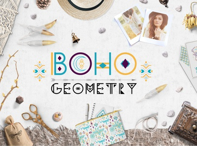 ◈BOHO GEOMETRY. Big Collection!◈