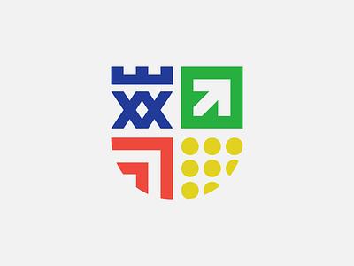 Student Union Logomark university student student union visual identity crest symbol vector logomark logo design branding