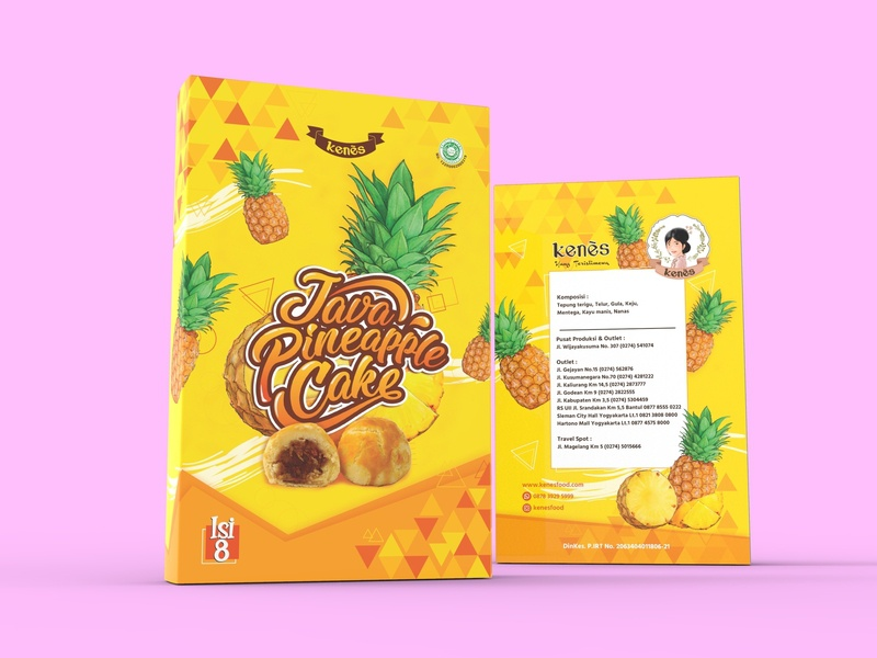 Pineapple CAKE fresh fruit cakes food lettering packaging design design
