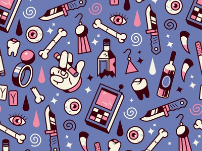 FUNKY PATTERN clothing apparel fabric textile fashion style graphics graphic seamless wallpaper surface ornament print design funky shapes pattern illustration