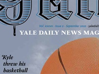 Yale Daily News Magazine redesign prototype, cover