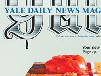Yale Daily News Magazine redesign, cover