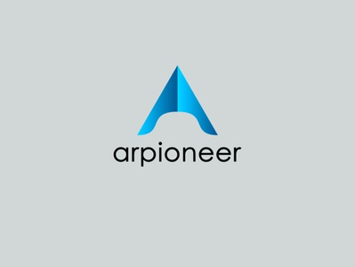 A letter creative logo