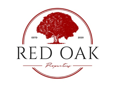 Red Oak Logo Design logotype red oak logo design red oak logo design modern logo design custom-logo versatile logo-creator professional logo logo design logo logo-maker custom logo graphics design
