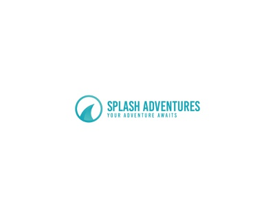 Splash Adventures Logo custom-logo design unique professional logo logo-creator logo logo-maker design logo versatile custom logo graphics design