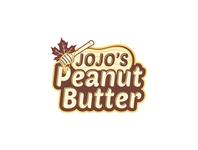 Jojo s Peanut Butter free logo coffe logo retaurent logo food logo design logo versatile graphics design