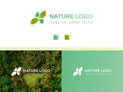 Natural Spa Yoga Wellness Health Beauty Fitness Logo