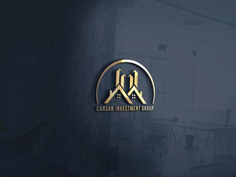 Modern real estate logo Free Download