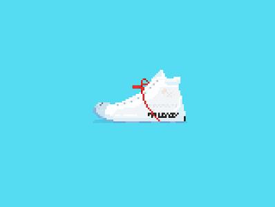 像素画-鞋