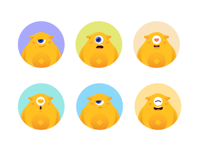 Mascot emoji design emoji illustration flat