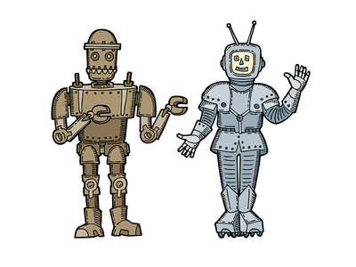 Sketch robots