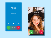 Telegram Voice Call for Android. Redesign