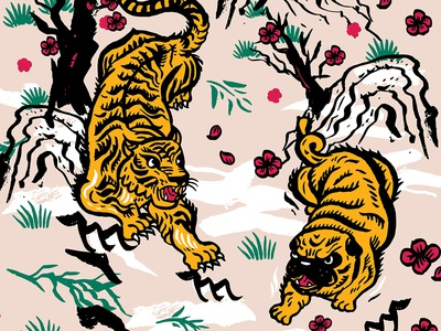 Tiger and Pug