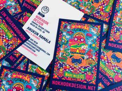 Nokhook design business cards