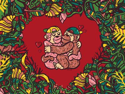 Monkey's love