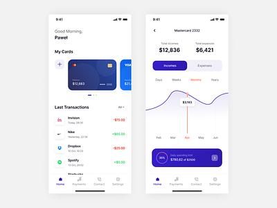Banking app business money ui design financial payments finance bankingapp mobile design mobile app app