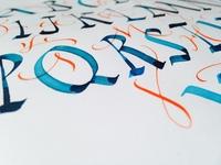 Alphabet / Rustica / Ukrainian Scoropis