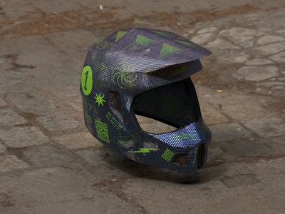 Custom Motocross Helmet