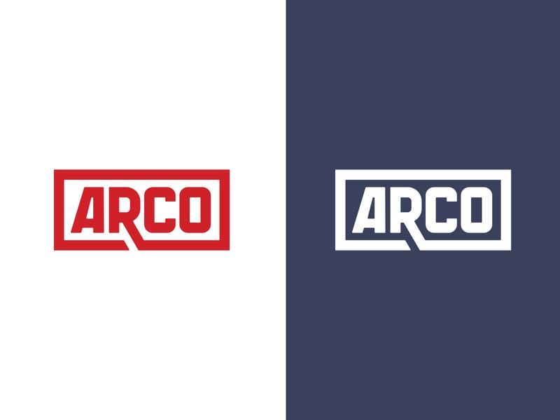 Arco Marine Logo americana industrial identity branding boating boat marine logo art direction branding design