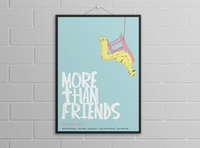More Than Friends Poster