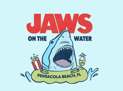 Jaws on the Water Logo