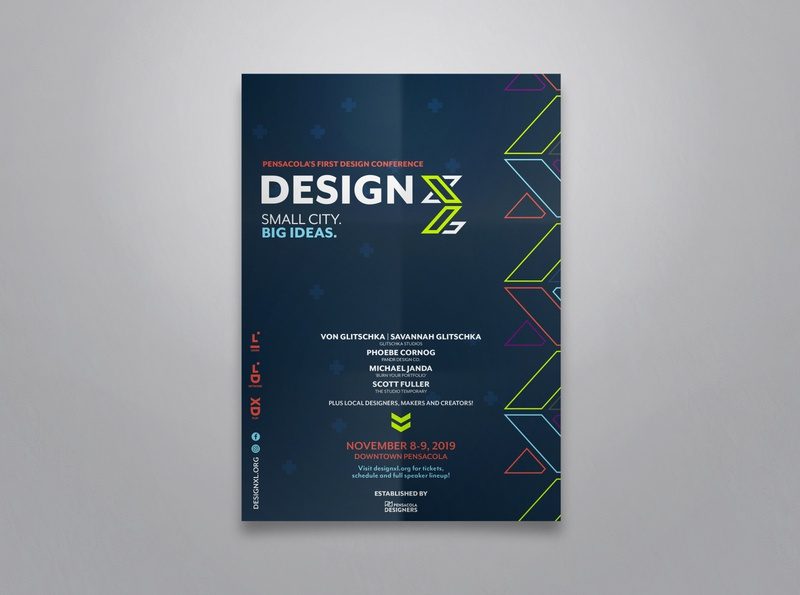 DesignXL Poster event branding poster print branding design