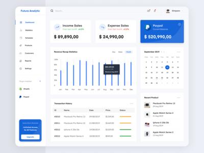 Sales Analytic Design - Web App