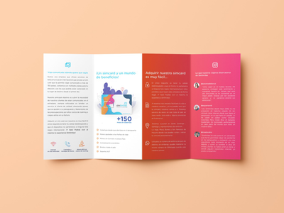 Brochure design for simlimites