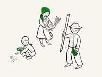 Farming Hmong Folk