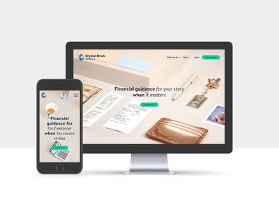 Crystal Brook Advisors Website Redesign