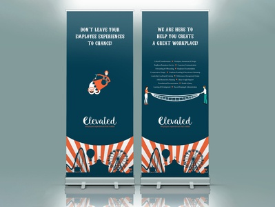 Roll up banner - Carnival theme