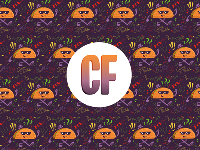Personal Brand personal brand branding ipad pro tacos procreate logo personal project design affinity designer illustration