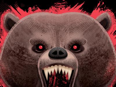 Raging Angry Bear