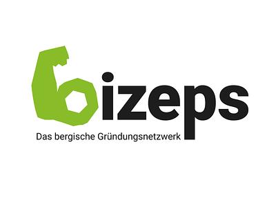 bizeps Logo Redesign design graphicdesign vector startup biceps arm logotype logodesign redesign logo adobe illustrator
