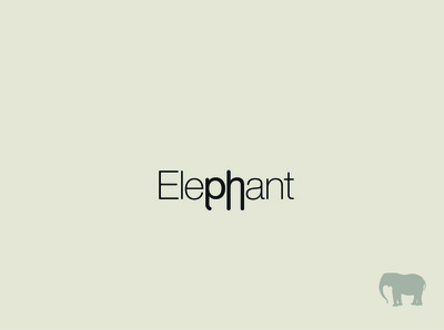 Elephant Typography Exploration
