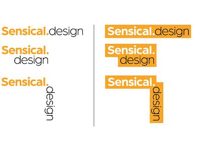 Sensical.Design logo logo logo design branding graphic design