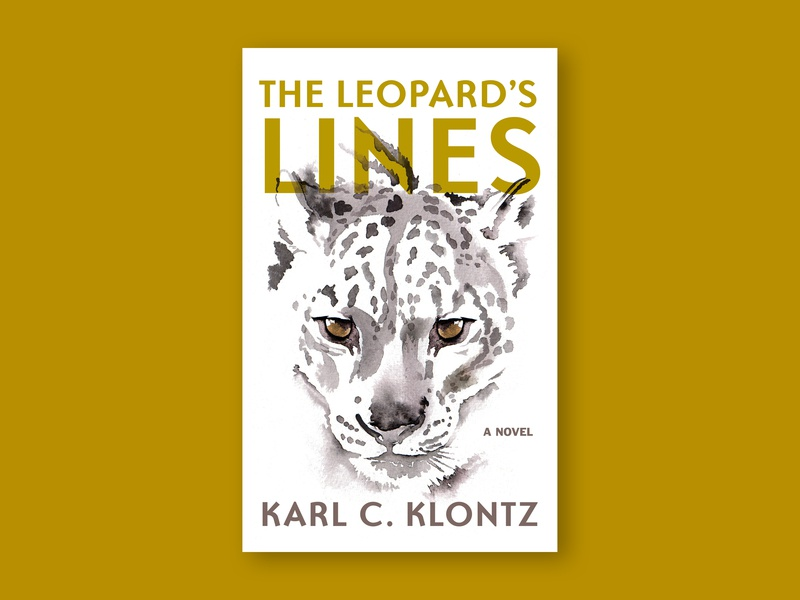 Leopard's Lines Cover print graphic design cover book cover