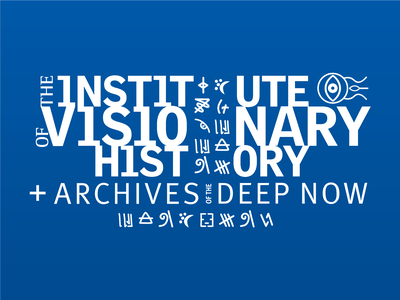 Institute of Visionary History logo graphic design theater branding logo design branding logo
