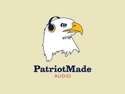 PatriotMade logo vector illustration branding logo graphic design