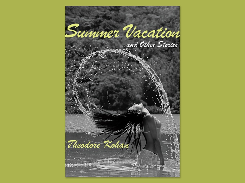 Summer Vacation cover design print book cover cover graphic design