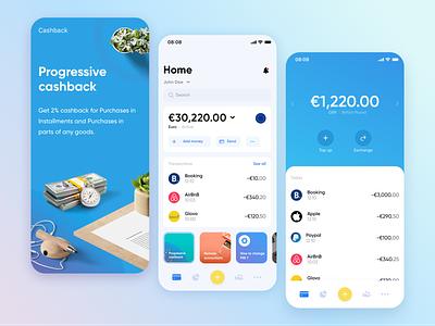 Online Banking Mobile App design mobile clientbanking banking