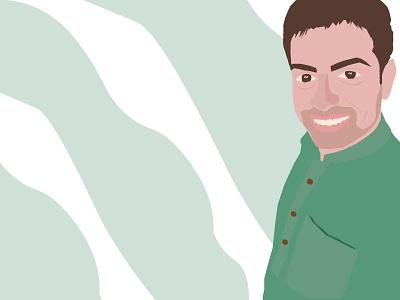 Portrait illustration 2020 design adobephotoshop vector illustrator sketch art portrait