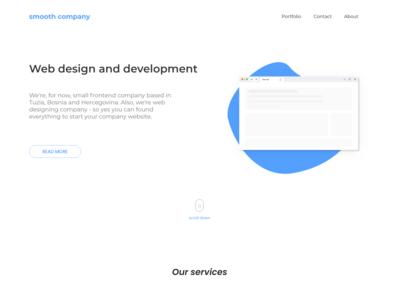 Smooth company | Web design