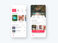 Hotel Booking App Concept