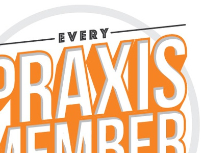 Praxis Ministry Lettering Exploration