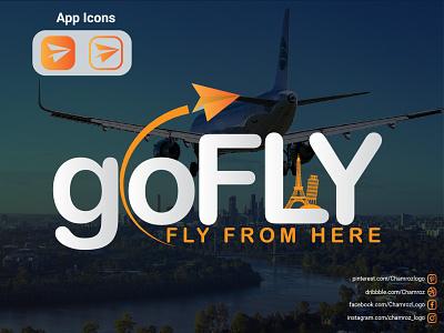 GoFly (Travel Logo) graphic design branding logo
